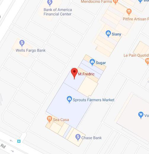 M.Fredric Westlake Village, CA Location Map