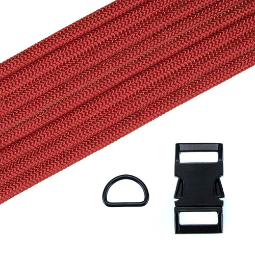 Dog Collar Kit - Imperial Red