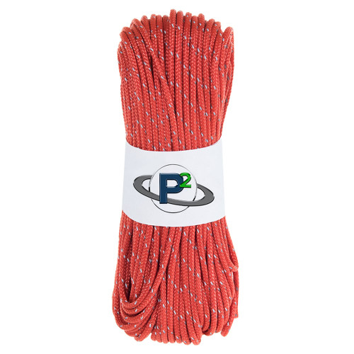 scarlet red reflective 95 paracord