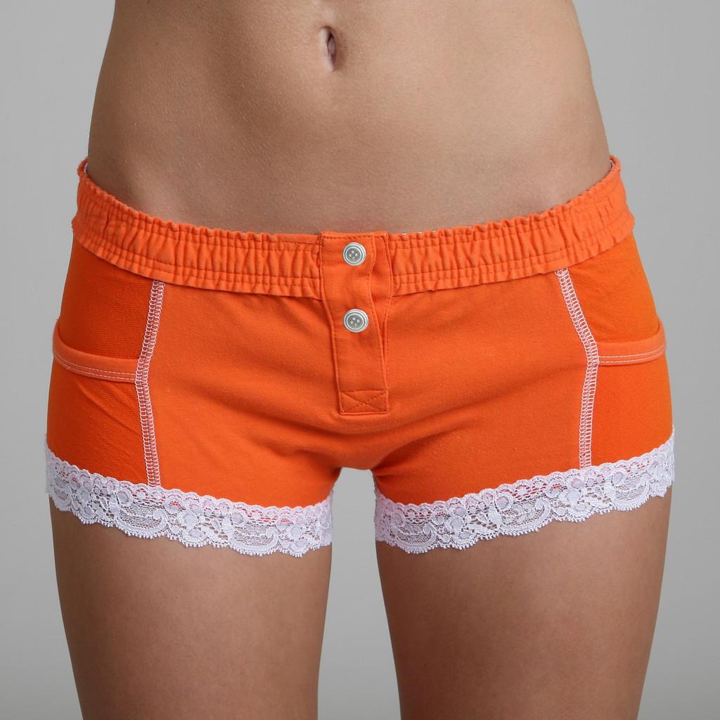 Sport Orange Boxer Brief