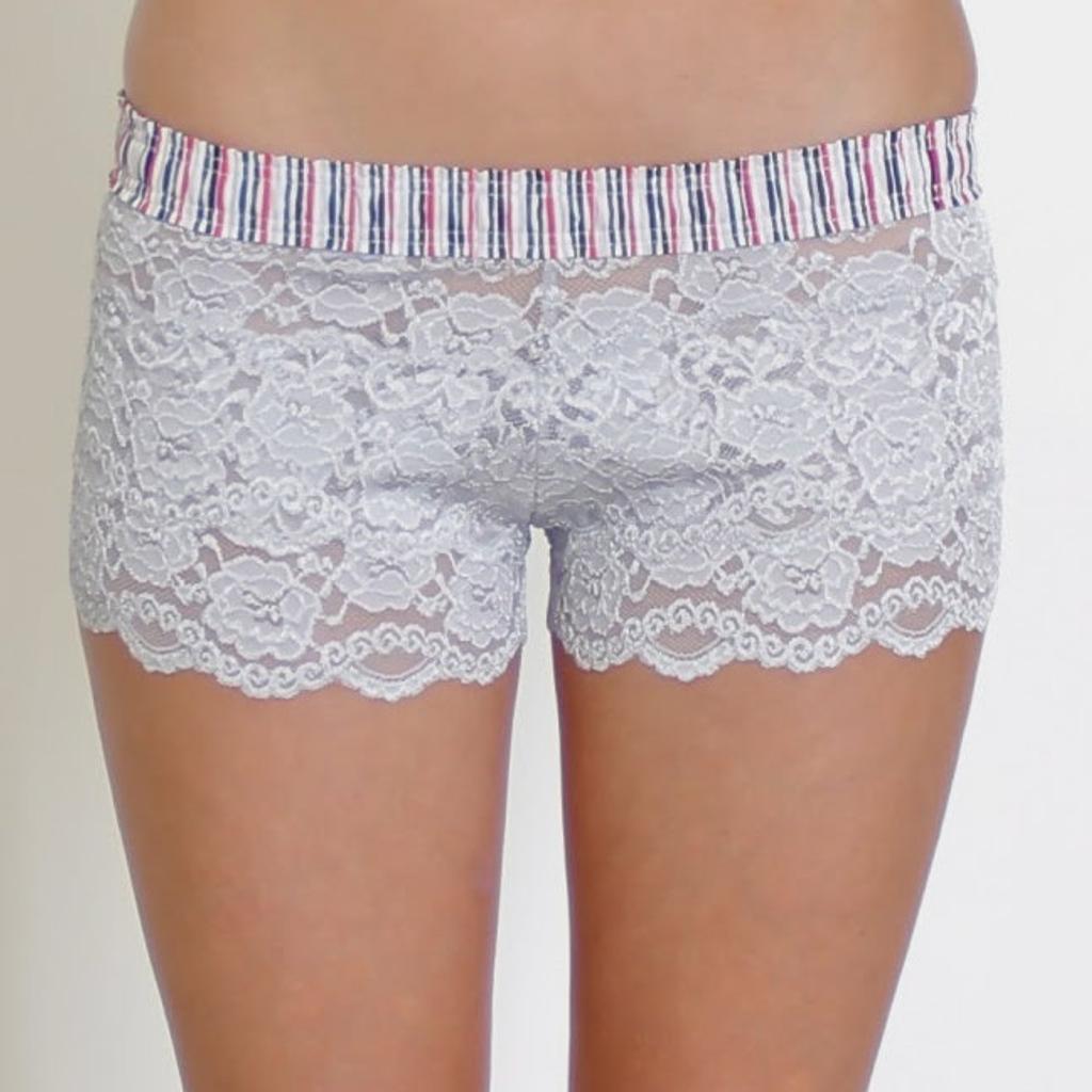 Women's Lace Boxer Underwear