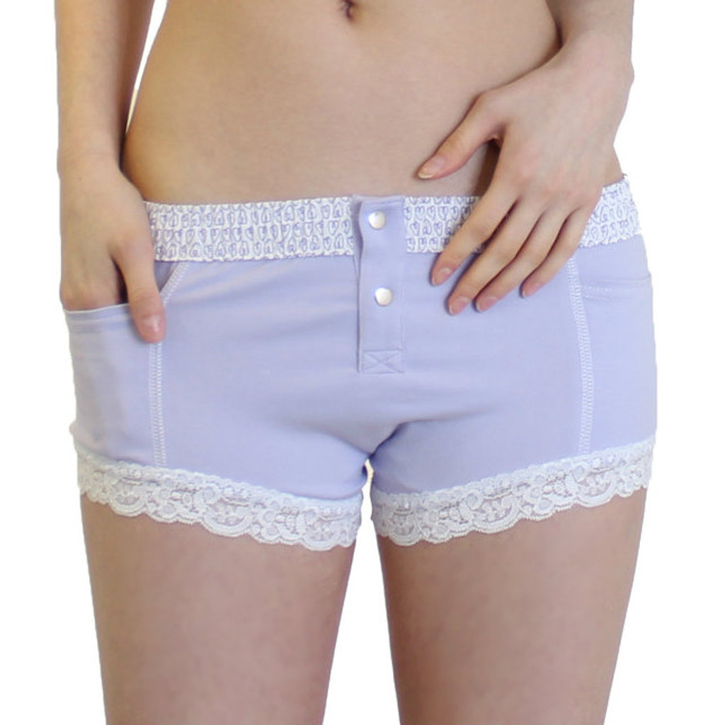 Lavender boxer brief