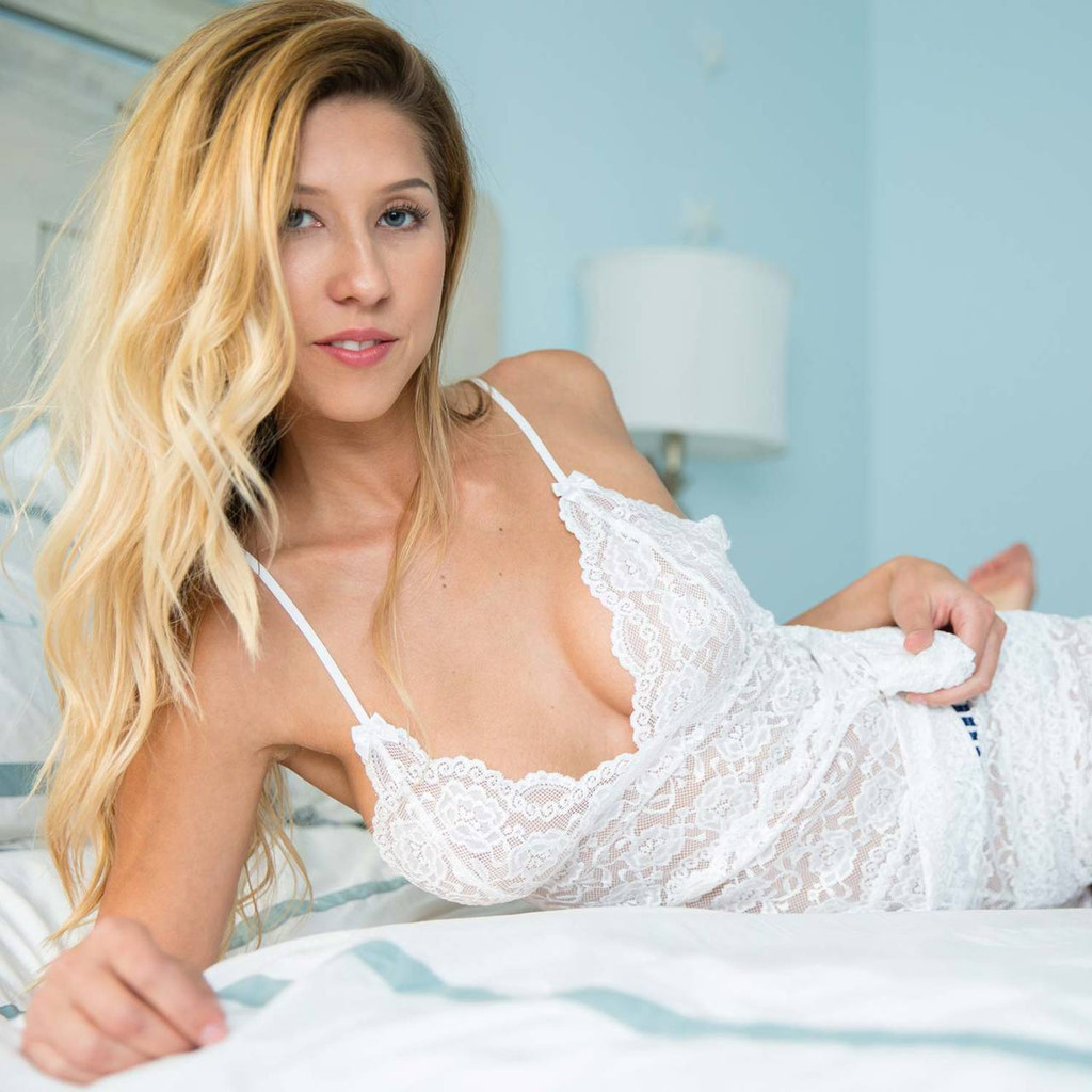 Sexy White Lace Nightie
