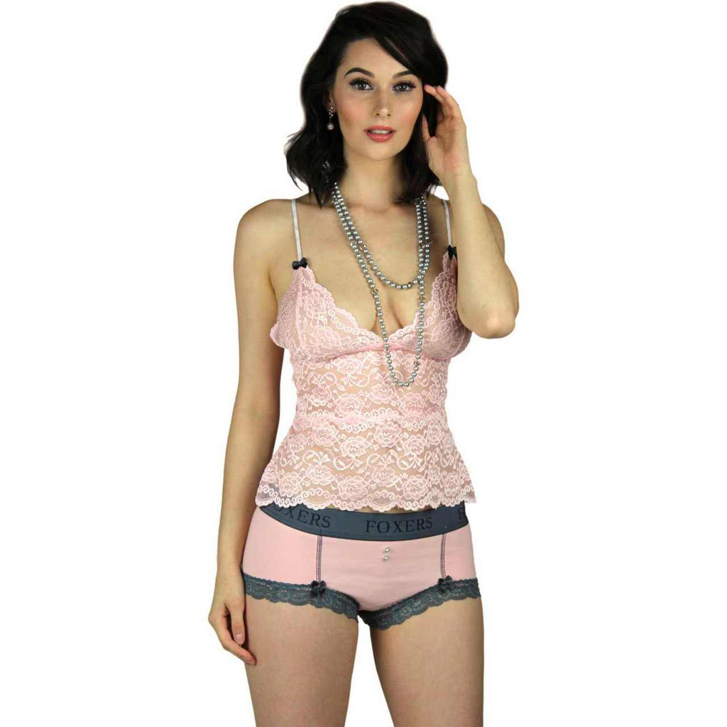 Soft and Comfortable Pink Lace Nightie