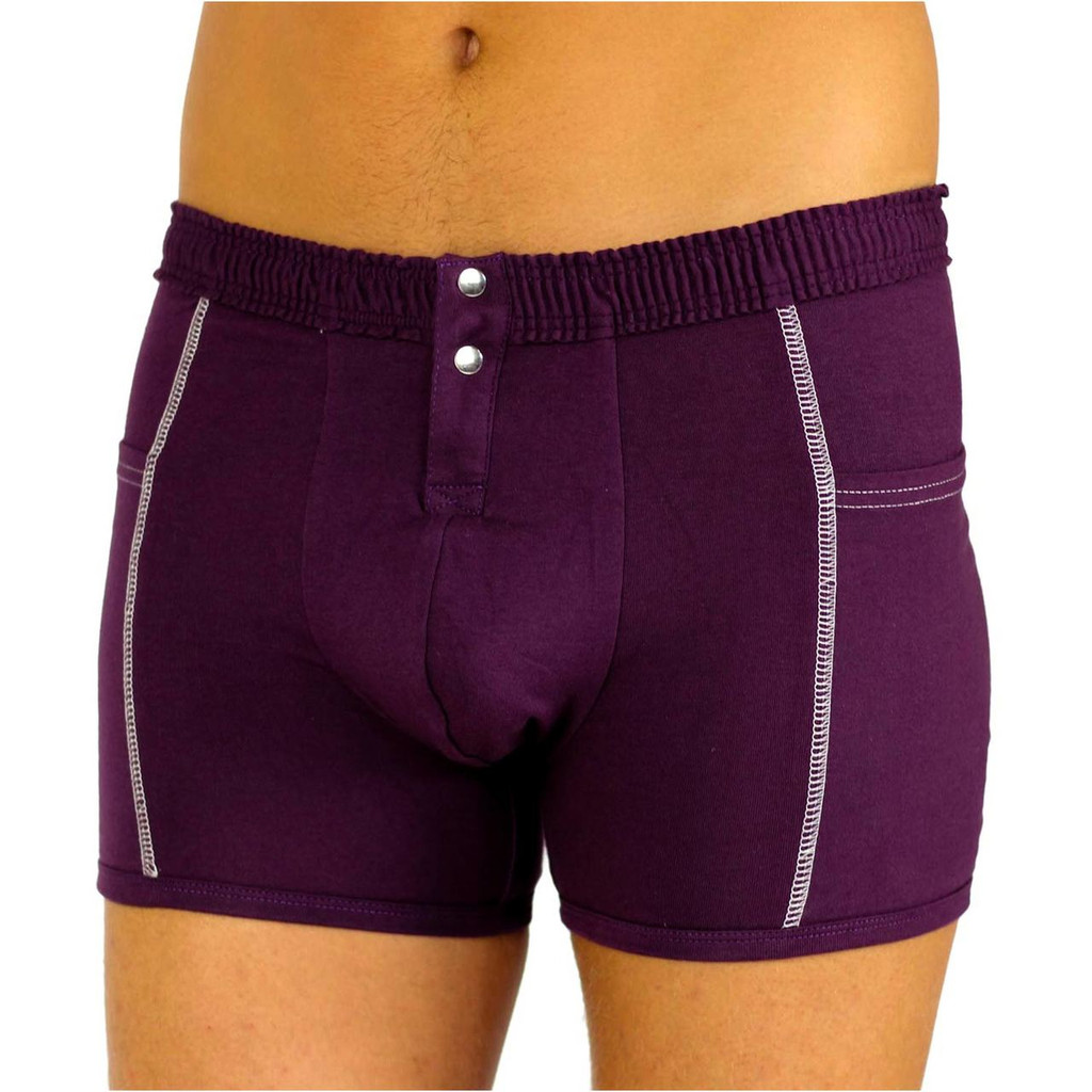Men's Plum Purple Boxer Brief