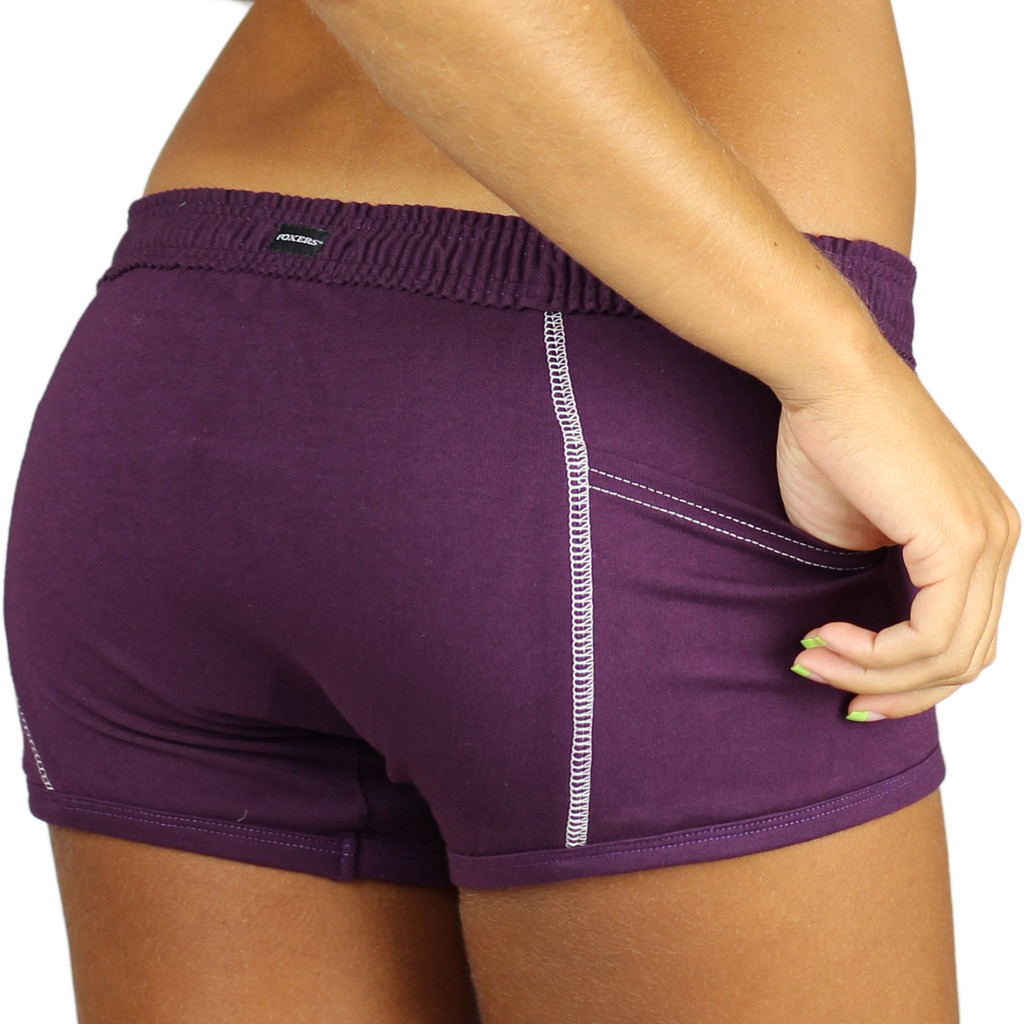 Purple Boxer Brief for Women