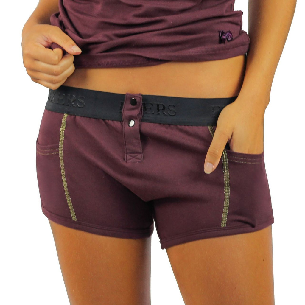 Fig Tomboy Boxer Brief with pockets