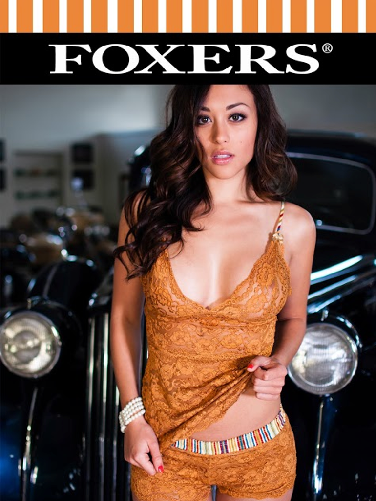 Classic Beauty Samantha Arena FOXERS Golden Lace 18X24 glossy poster
