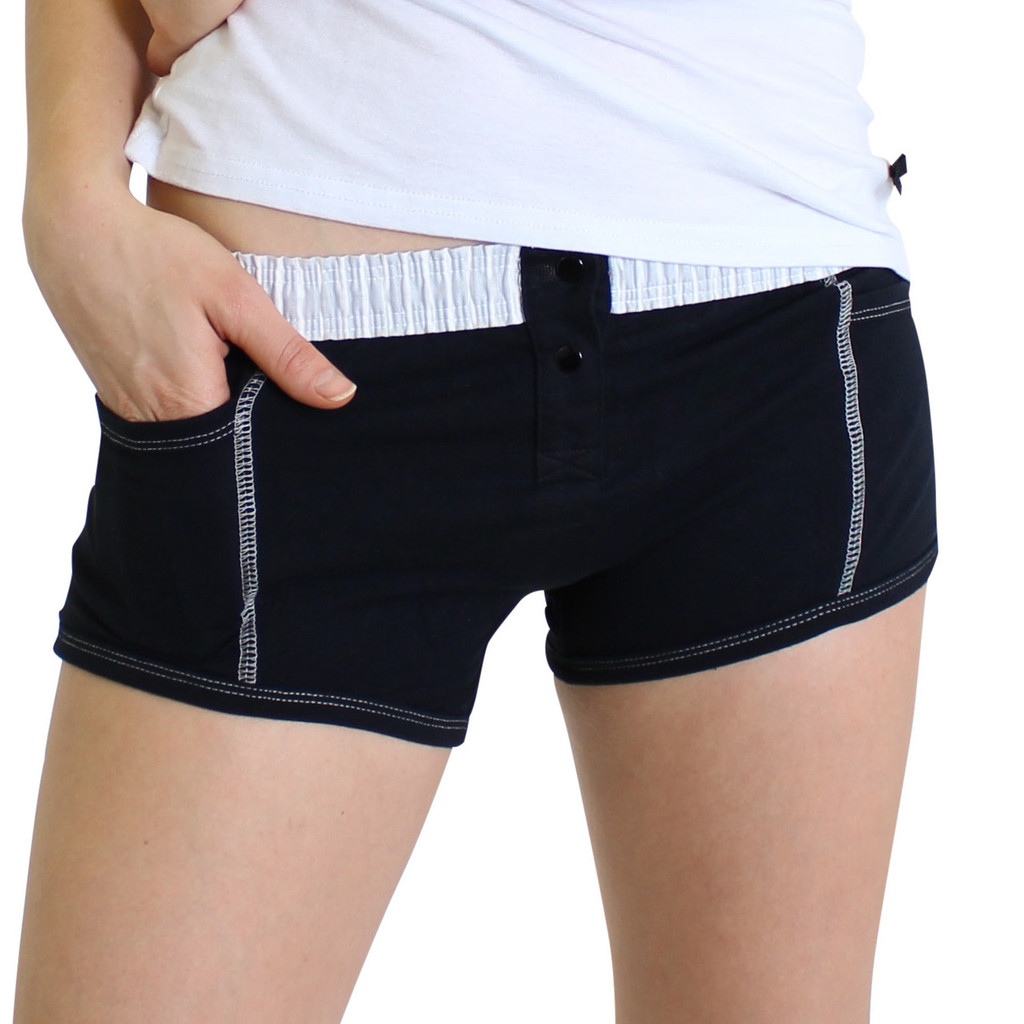 Black Tomboy Boxer Brief FOXERS band