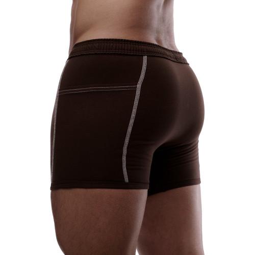 Brown Boxer Brief Underwear
