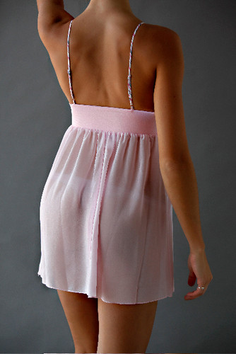 Pink Baby Doll Chemise