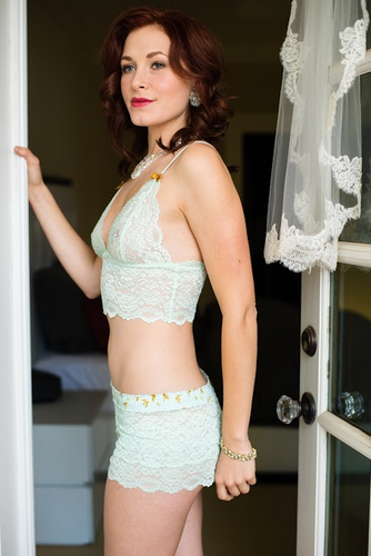 Mint Lace Bride