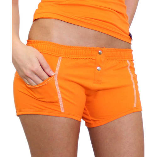 Orange Tomboy Girl Boxers