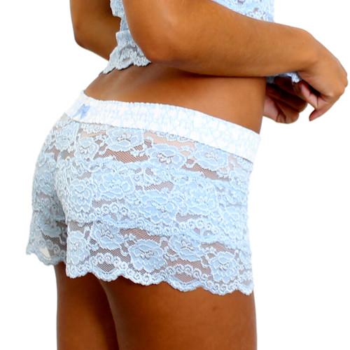 Something Blue Lace Underwear