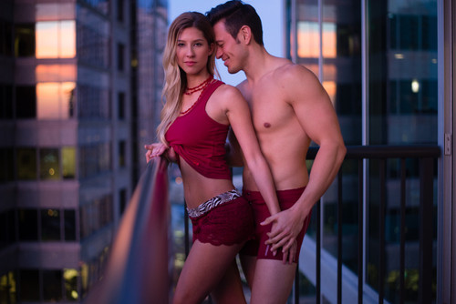 FOXERS Cranberry Boxer Briefs for Men and Women