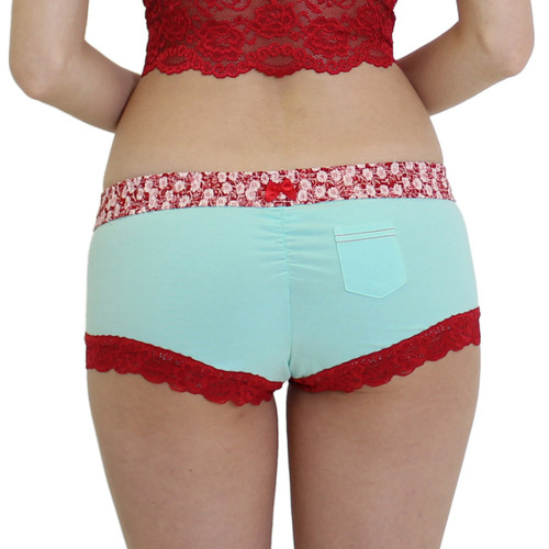 Women's Cute Boy Short Panties