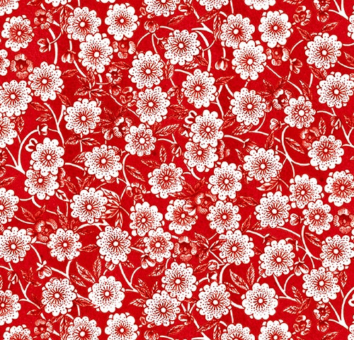 Flower Power Waistband Fabric