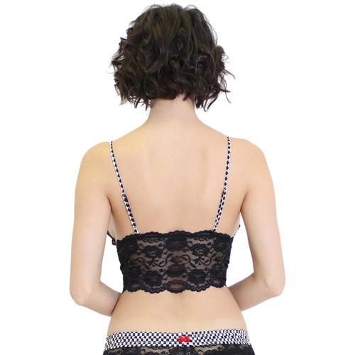 Black Lace Camisole Lingerie