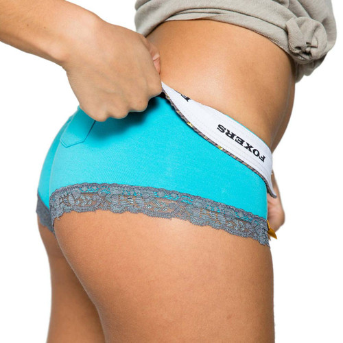 Turquoise Boyshort Underwear
