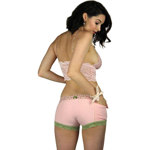 Pink Girl Boxer Briefs with Pockets