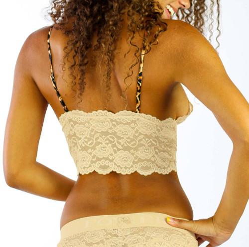 Sahara Sand Lace Bralette Cami