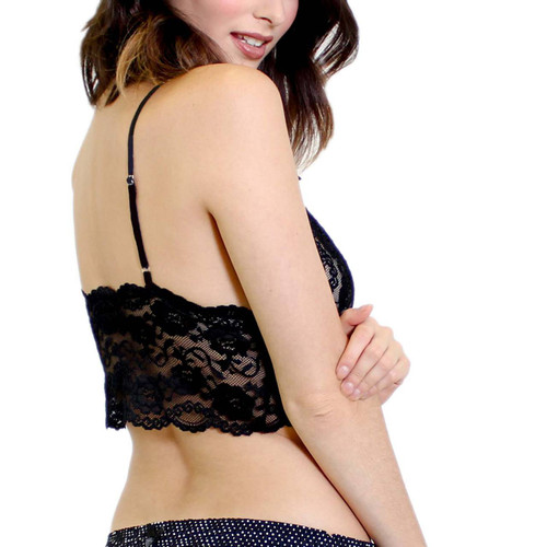 Black Lace  Camisole with Adjustable Straps