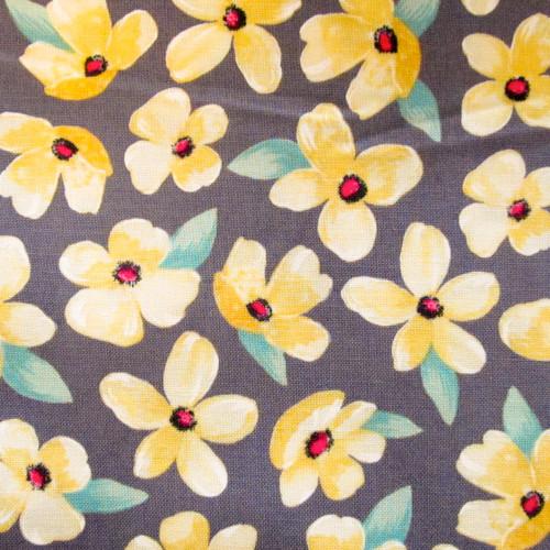 Sunshine Yellow Boyshorts Panties | Posies Waistband