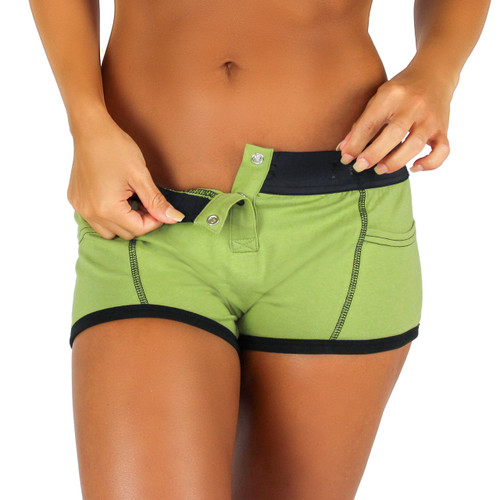 Sage Green Tomboy Boxer Brief | Foxers