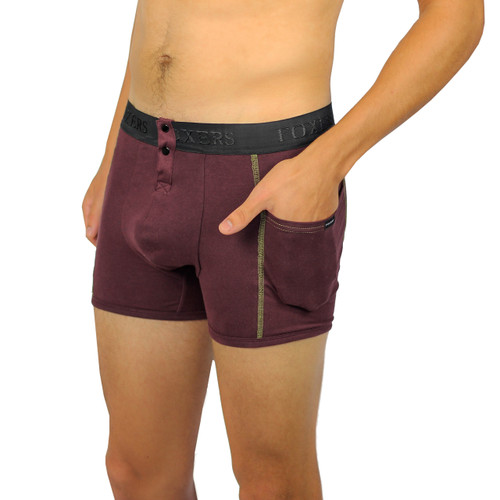 Mens fig boxer brief