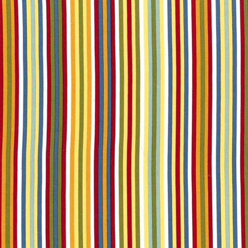 Cruise Multicolored Striped Waistband Swatch