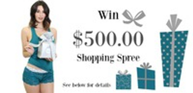 Win a $500 shopping spree on FOXERS.com