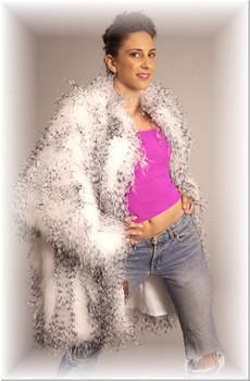 Buy Beautiful Ostridge Feather Jacket