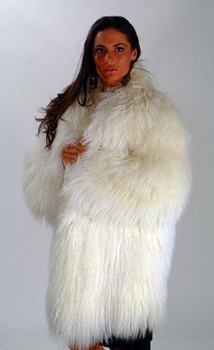Curly Lamb Fur Jacket 1