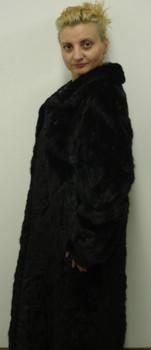 Sectional Mink Fur Coat 2