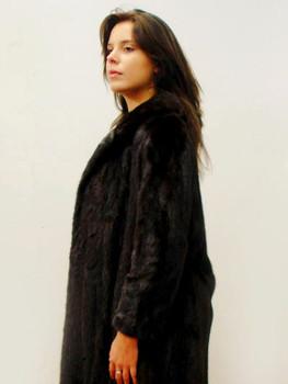Vintage Mahogany Mink Woman's Coat