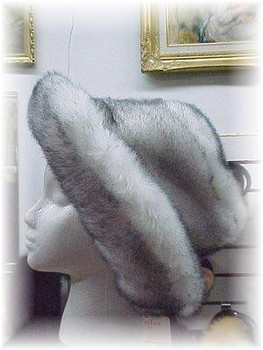 'Blue Fox' Style Faux Pitcher Hat