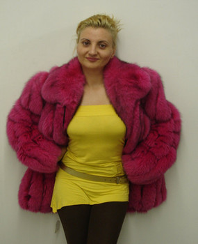 Burgandy Full Skin Bomber Jacket