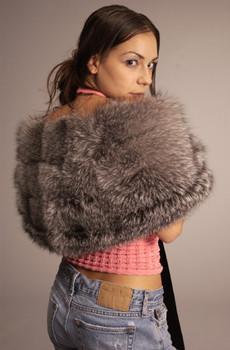 Buy Winter Fox Fur Shawl