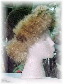 Beaver Fur Hat with Finnish Raccoon Trim