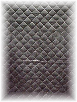 Natural Sheared Beaver Design Fur Blanket