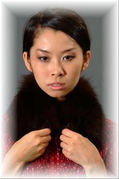 Brown Fox Fur Collar 1