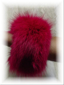 Buy Dyed Full Skin Fox Fur Cuffs