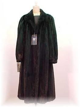 """American Legend"" Ranch Mink Fur Coat 1"