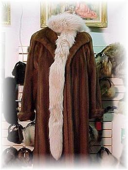 Snowtop Fox Tail Fur Scarf