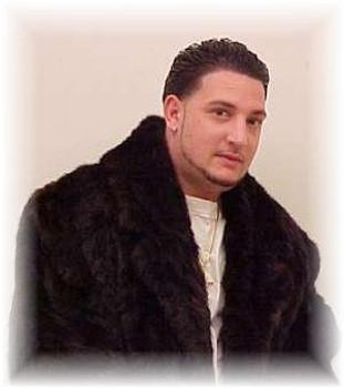 Black 3/4 Length Mink Fur Jacket