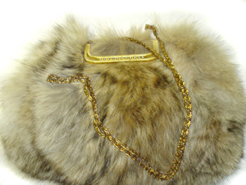 Natural Coyote Hand Bag