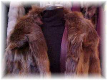 Beaver Fur Jacket With Zipper