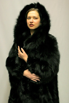 Black Fox Fur Design