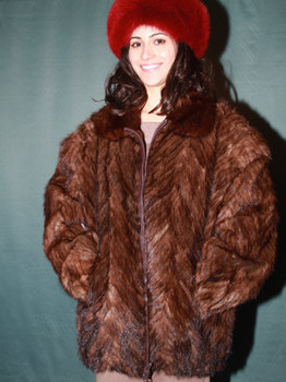 Design Mink Jacket Full Skin Mink Collar