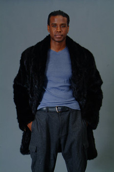 3/4 Mink Fur Jacket w/ Notch Collar